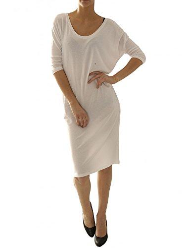Blaumax Damen Mila Kleid, Weiß (White 0000), 34 (Herstellergröße:XS)