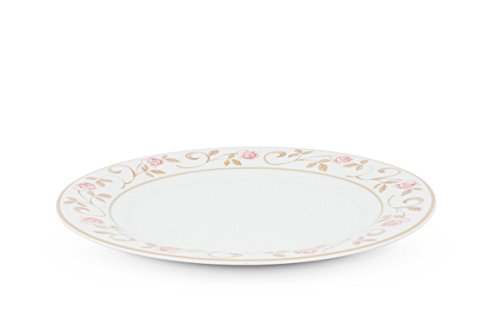 Assiette à Petit Déjeuner 21, 5 cm l'horizon roses Frise