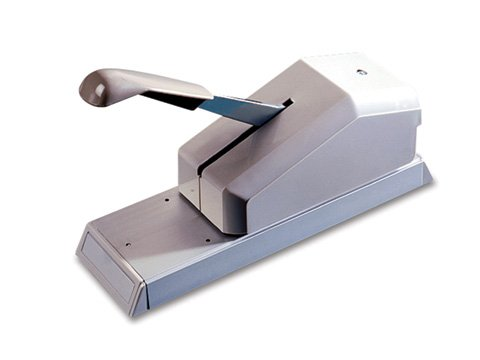 Addressograph Bartizan Modell 871 Pumpgriff-Kreditkarten-Imprinter