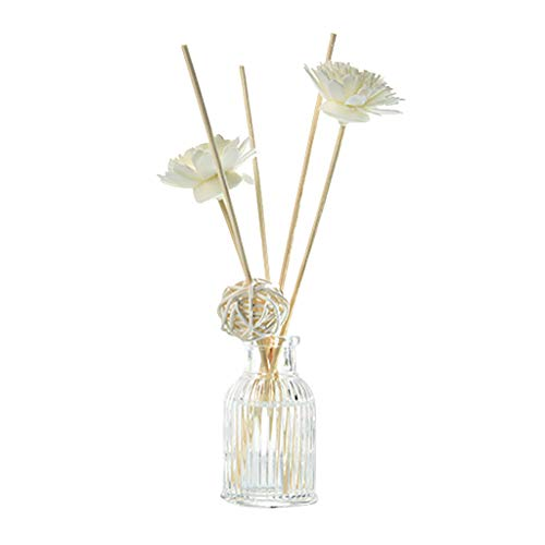 Fasclot Reed Oil Diffusers with Natural Sticks, Glass Bottle and Scented Oil 50ML