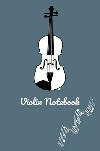 Violin Practice & Assignment Notebook: Violin Lesson Tracking Charts   Record Notes and Practice Log Book   100 pages