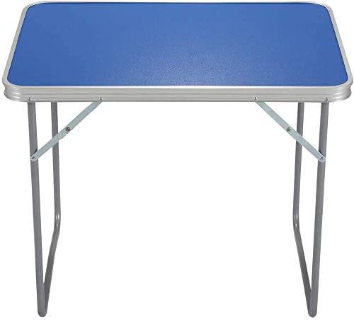 Table De Camping Pliante en Plein Air Portable pour Le Pique-Nique en Plein Air Intérieur Banquet De Salle à Manger (60 * 4 * 60cm)