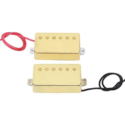 Paquete de 2 pastillas Humbucker con tornillos y resortes compatibles con guitarra...