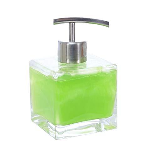Dispensador de jabón para ducha Hotel Hogar de cristal Desinfectante for las manos Loción Botella Gel de Ducha Hidratante Shampoo baño Caja de Hogares dispensador de jabón Hotel, aseo ( Color : B )