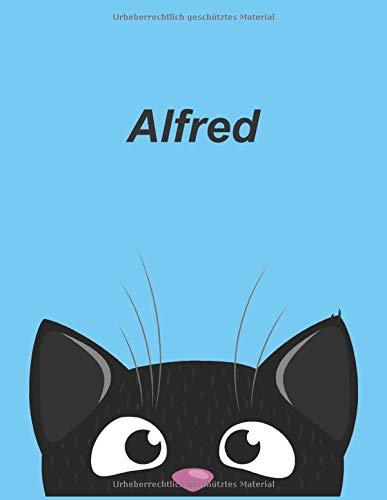 Personalisiertes Notizbuch: Alina - über 100 Seiten, liniert im A4+ Format