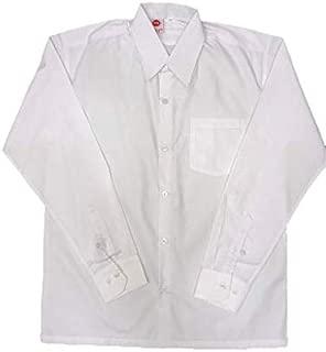 SVG Men's White Cotton Full Sleeves Shirt