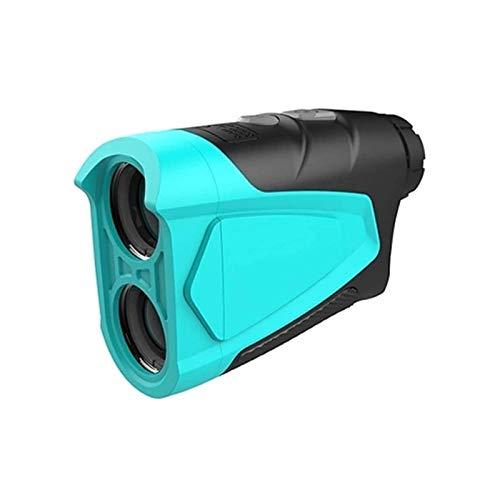 SYWJ HD Telescopio Digital Telémetro de Golf 600M Telémetro de Golf Mini Golf Pendiente Medidor de Distancia Deportivo Telémetro Mini telescopio de Alcance al Aire Libre para Caza Buscador de Ran