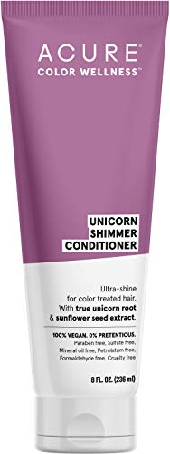 ACURE Unicorn Shimmer Conditioner | 100% Vegan | Performance Driven Hair Care | True Unicorn Root & Sunflower Seed Extract - Ultra-Shine Formulation For Color Treated Hair | 8 Fl Oz