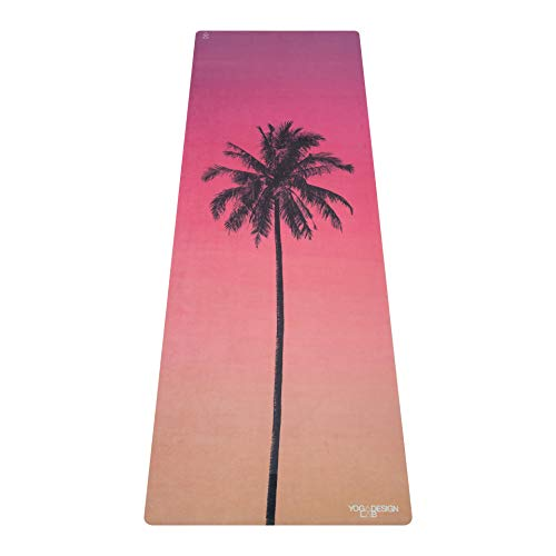 Yoga Design Lab | THE COMBO YOGA MAT | 2-in-1 Mat+Towel | Eco Designed in Bali | Ideal for Hot Yoga,...