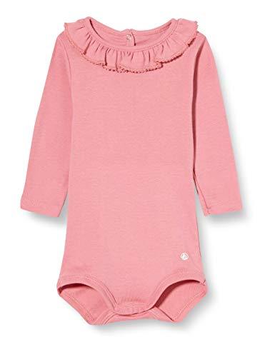 Petit Bateau Mädchen 5700407 Baby- und Kleinkind-Unterwäscheset, pink, 3 Monate