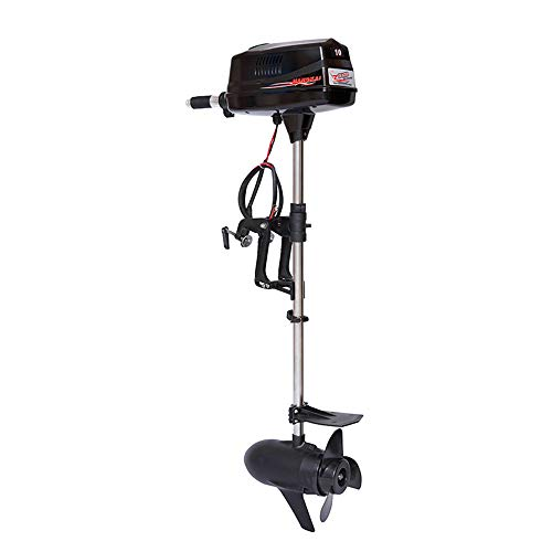 HANGKAI 10 HP Electric Outboard Motor Boat Engine 2200W Electric Start Marine Trolley Driver Brushless Motor Propeller