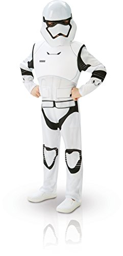 Rubie's Official Child Star Wars Stormtrooper Deluxe Costume - Medium 5-6 years