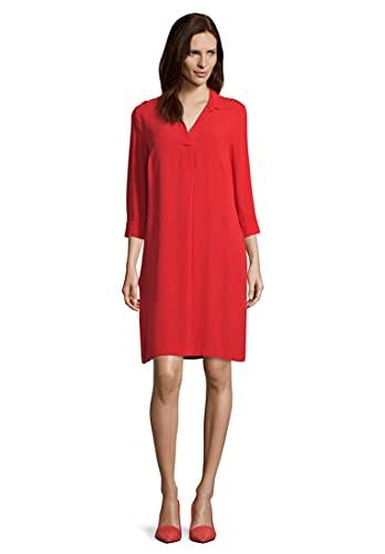 Vera Mont Damen 6004/4038 Kleid, Rot (High Risk Red 4067), (Herstellergröße: 42)