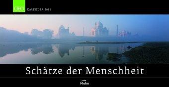 GEO Panoramakalender: Schätze der Menschheit - Das Weltkultur-Erbe 2011