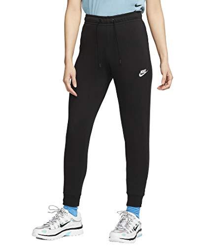 Nike Essetnial Tight Women Sweatpants Jogginghosen (S, Black/White)