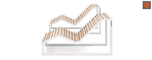 Arcos Italia Chaise Longue de Desing Made in Italy_VENTIQUATTRORE.h24_ para Exterior (monoasiento)
