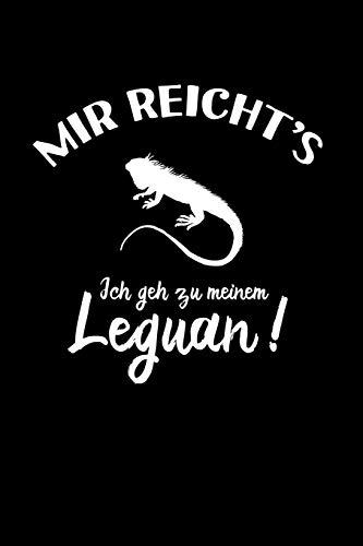 Leguane: Ich geh zu meinem Leguan: Notizbuch / Notizheft für Leguan-Besitzer Leguan-Halter A5 (6x9in) liniert mit Linien
