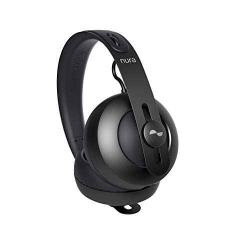 nuraphone — Wireless Bluetooth Over Ear Headphones with Earbuds, Creates Personalized Sound, Active Noise Cancellation (ANC), Social Mode, Multi-tap Buttons, 20 Hour Battery Life, Immersive Bass