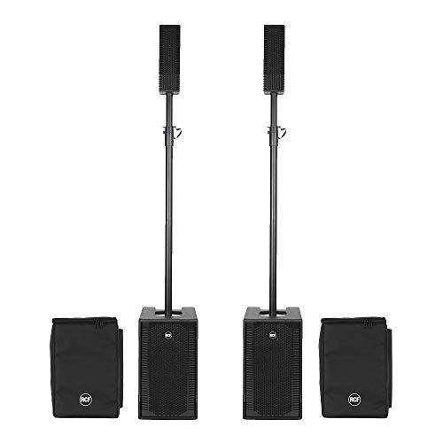 RCF Evox 5 Active Dos Columna Array Sistema de Altavoces 800W DJ Packge inc Cubiertas