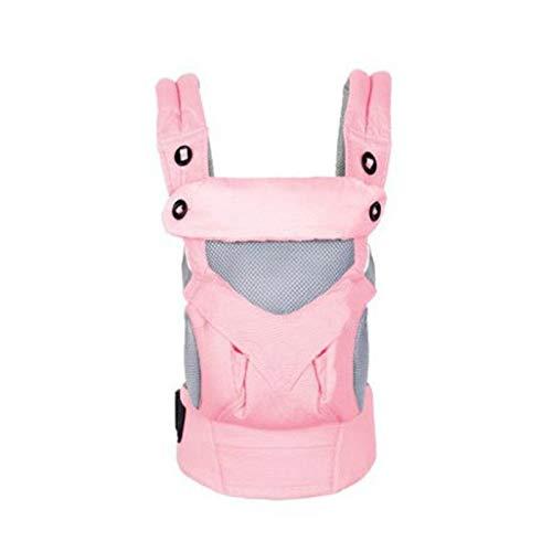 Porte-bébés dorsaux Porte-bébé Portable Enfants Sac à dos Epaule épaissie Capuche Kangourou
