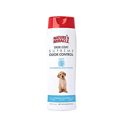 Nature's Miracle NM-6096 Supreme Odor Control Puppy Shampoo, 16 oz