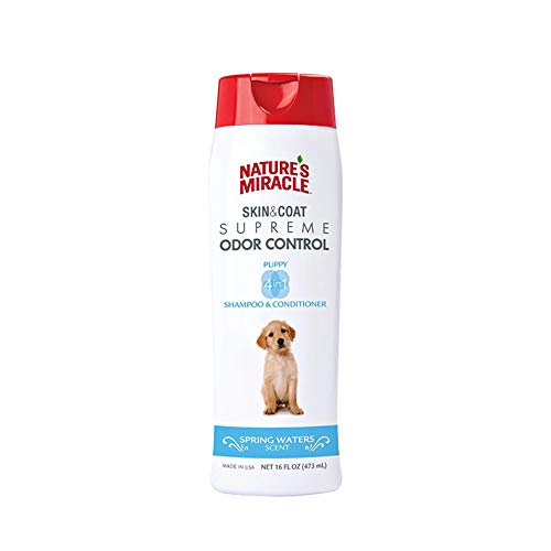 Nature's Miracle NM-6096 Supreme Odor Control Puppy Shampoo, 16 oz