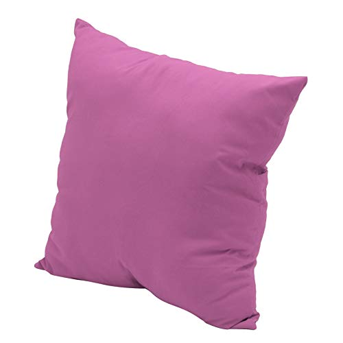 Queiting Cushion Cover Home Decor Bed Sofa Throw Pillow Case Plain Dyed Cushion Cover Square Cushion Cover Case Sofa Home Decor Plain Dyed Cotton Pillow Case Lavender
