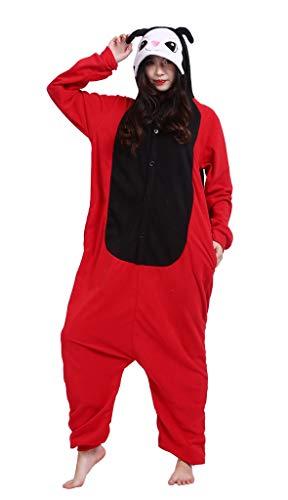 Pijama Onesie Adultos Mujer Cosplay Animal Disfraces Halloween Carnaval Cosume Mariquita M