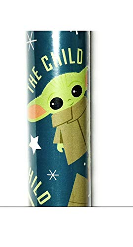1 Roll The Mandalorian The Child Christmas Gift Wrapping Paper Roll 40 Sq. Ft.