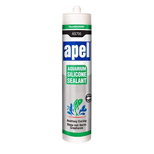 APEL Aquarium 100% Silicone Sealant (10.5 fl oz) Non Toxic Safe for Fish