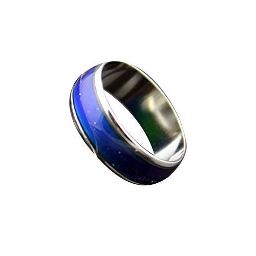 Greenwoodhomer - Anillo para cambiar de color a temperatura personalizable