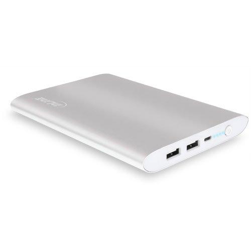 InLine USB powerbank extra batterij (16000mAh) zilver