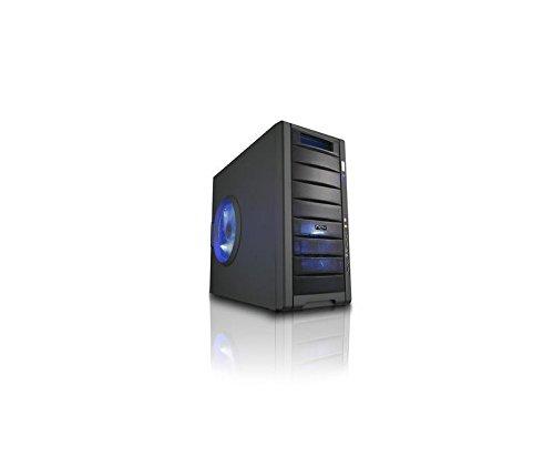 NOX Coolbay 25 Midi-Tower Negro Carcasa de Ordenador - Caja de Ordenador (Midi-Tower, PC, SECC, Negro, 200 mm, 440 mm): Amazon.es: Informática