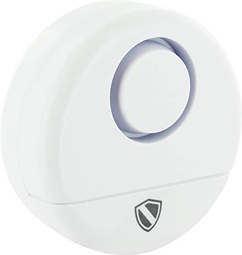 SCHWAIGER -5460- Glasbruch-Melder Fenster/Glasbruch-Alarm/Glasbruch-Sensor/Sirene/Einbruchschutz/Fenster-Sicherung