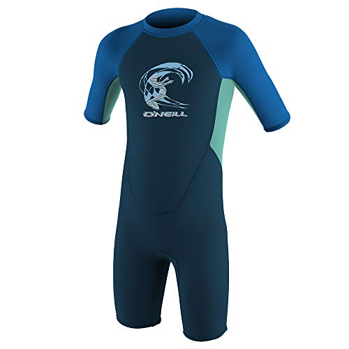 O\'Neill Wetsuits Kinder Reactor Wetsuit, Slate/Sky/Ocean, 4