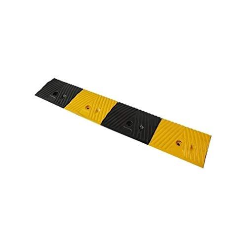 WAGJAG Tragbare Gehweg Rampe, Gummi Anti-Rutsch-Sicherheitsrampe Mat, Fahrrad Rollstuhl Skateboard Trolley Uphill Pad (Größe: 98,5 * 14,5 * 3cm) (Size : 97 * 17 * 3.5CM)