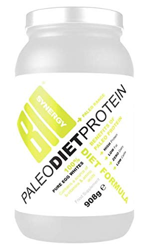 Bio-synergy Paleo Diet Protein Powder, 908g (30 Servings) Nutrition Food and Health Supplement - Low Carbs, 24g Protein