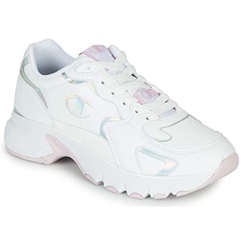 Champion Cwa Eclipse Zapatillas Moda Mujeres Blanco - 38 - Zapatillas Bajas Shoes