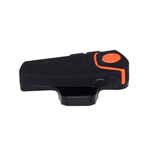 Bluetooth Motocicleta Casco Auriculares Comunicación Intercomunicadora Auricular Universal Inalámbrico Interphone a 2 o 3 Jinetes (Color : A)