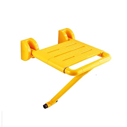 Best Review Of LXJY Shower Chair Wall-Mounted Shower seat Leg Folding Folding Shower Chair