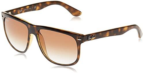 Ray-Ban - Gafas de sol Rectangulares RB4147 para hombre, LIGHT HAVANA