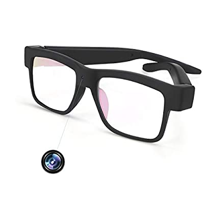 Camera Glasses 1080P Towero Mini Video Glasses Wearable Camera(Without SD Card) from Towero