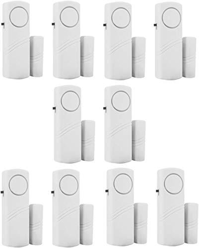 Personal Security Window & Door Alarm Bell | Wireless Sensor Door Window...