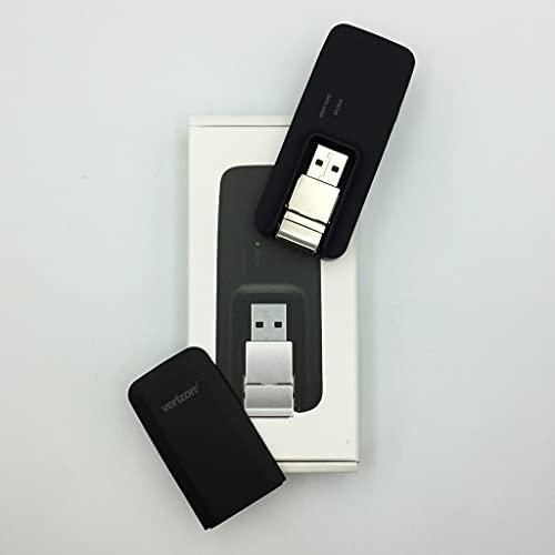Verizon MiFi USB730L U730L 4G LTE Global USB Modem Black,Verizon (Newest Edition)
