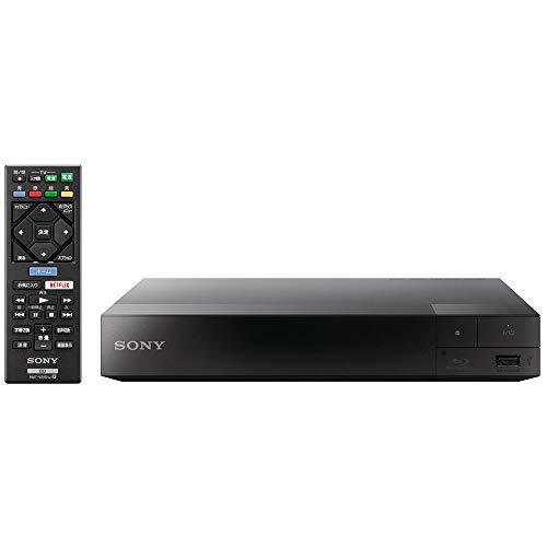 ソニー ブルーレイプレーヤー/DVDプレーヤー コンパクト スタンダードモデル BDP-S1500, ブラック 230mm×39...