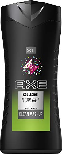 Axe douchegel Fresh Forest & Graffiti. 400 ml (3er Pack)