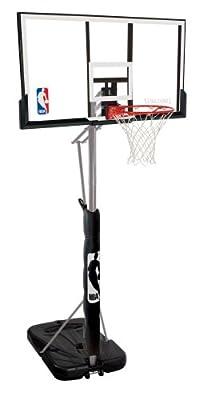 Spalding 72307PR Portable Basketball System - 52in Acrylic Backboard