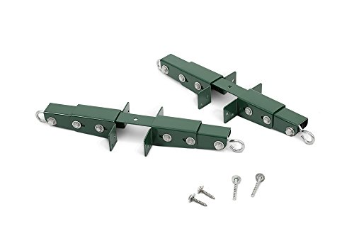Gorilla Playsets 11-4026-P Adjustable Glider Brackets for Swing Sets (Pair), Green