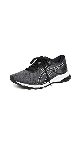 ASICS Womens GT-1000 9 Running Shoe, Carrier Grey/Black, Size 9.5