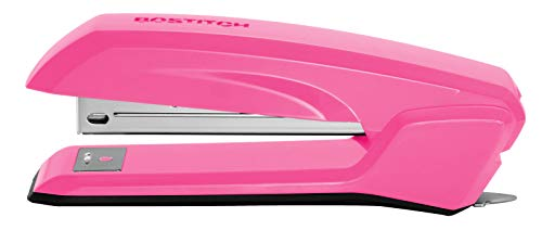 Bostitch Office B210R-PINK Bostitch Ascend 3 in 1 Stapler with Integrated Remover & Staple Storage, Pink (B210-PINK)